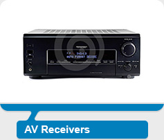 Click to Shop AV Receivers